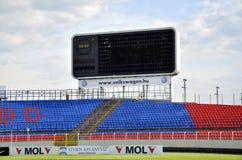 Videoton Scoreboard Royalty Free Stock Image