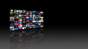 Videowand-Medien-Strömen (HD) stock video footage