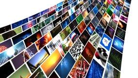 Videowand-Medien-Strömen (HD) stock abbildung
