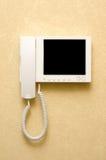 Videowechselsprechanlageausrüstung Lizenzfreies Stockbild