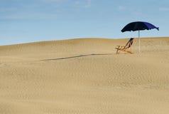 Videz la plage Image libre de droits