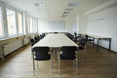 Salle de conférence vide Image stock