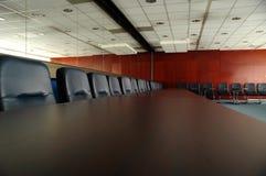 Videz la salle du conseil d'administration Images libres de droits