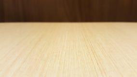 Videz la table en bois de crème légère pour la conception graphique pour le restaurant, la page Web, panneau de diagramme de la p Image stock