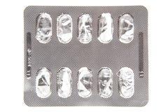 Videz le paquet de pharmaceutiques photos libres de droits