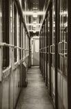 Videz le train Photos libres de droits