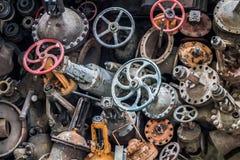 Videz les vieilles valves de l'eau Photographie stock libre de droits