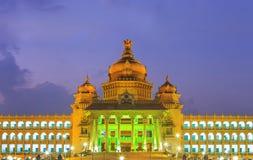 Vidhana Soudha - Bangalore - Índia fotografia de stock