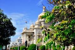 Vidhana Soudha, Bengaluru (Bangalore). The Vidhana Soudha located in Bengaluru (Bangalore), is the seat of the state legislature of Karnataka Stock Photos