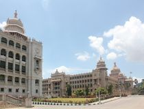 Vidhana Soudha - Landmark structures of bangalore Stock Photography