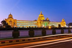 Vidhana Soudha państwowe ciało ustawodawcze Obrazy Stock