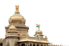 Vidhana Soudha. Parliament building Bangalore, Karnataka, India Royalty Free Stock Photo