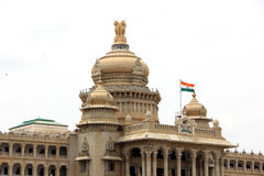 Vidhana Soudha. Parliament Building in Bangalore, Karnataka, India Stock Image