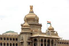 Vidhana Soudha. Parliament Building in Bangalore, Karnataka, India stock image