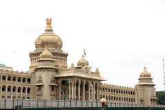 Vidhana Soudha. Parliament Building in Bangalore, Karnataka, India Stock Images