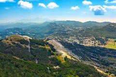 Vidikovac, parco nazionale di Lovcen, Montenegro immagini stock