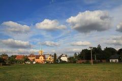 Vidnava-Stadt (weidenau) Stockfoto
