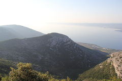 Vidova Gora, Kroatië, jaar 2013 Stock Foto's