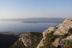 Vidova Gora, Kroatien, år 2013 Arkivbilder