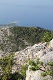 Vidova Gora, Kroatien, år 2013 Arkivfoton
