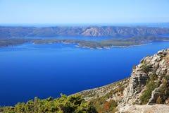 Vidova Gora, Kroatien Arkivbild