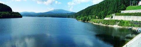 湖Vidra 免版税库存图片