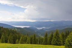 Vidra lake Royalty Free Stock Image