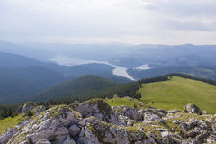Vidra lake Stock Photo