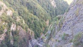 Vidraru-Ansicht Lizenzfreies Stockbild