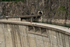 Vidraru dam Stock Photos