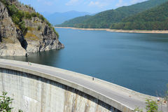 Vidraru Dam, Romania Royalty Free Stock Photo