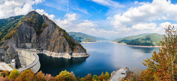 Vidraru Dam, Romania Royalty Free Stock Photography