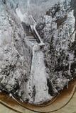 Vidraru dam in Romania Royalty Free Stock Photos