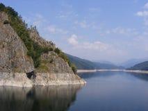 Vidraru jezioro Zdjęcie Royalty Free