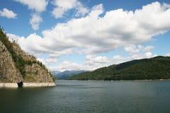 Vidraru jezioro Obrazy Royalty Free