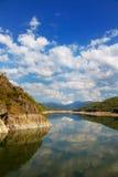 Vidraru lake royalty free stock images
