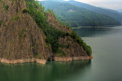 Vidraru lake Stock Photography