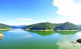 Vidraru lake - landscape Royalty Free Stock Image