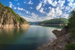 Vidraru lake, Romania Stock Photo