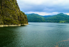 Vidraru lake - Romania Stock Image
