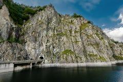 Vidraru lake, Romania Royalty Free Stock Photography