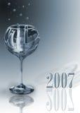 Vidrio 2007 stock de ilustración