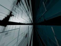 Vidrio abstracto Imágenes de archivo libres de regalías