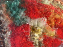 Vidrio abstracto Imagenes de archivo