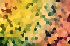 Vidrio abstracto manchado Imágenes de archivo libres de regalías