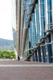 Vidrio, aluminio y cemento Foto de archivo libre de regalías