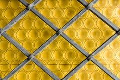 Vidrio amarillo Foto de archivo
