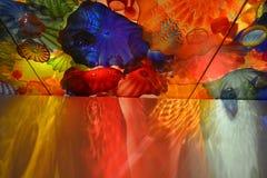 Vidrio artístico Foto de archivo libre de regalías