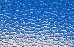 Vidrio azul Foto de archivo libre de regalías