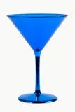 Vidrio azul imagen de archivo libre de regalías